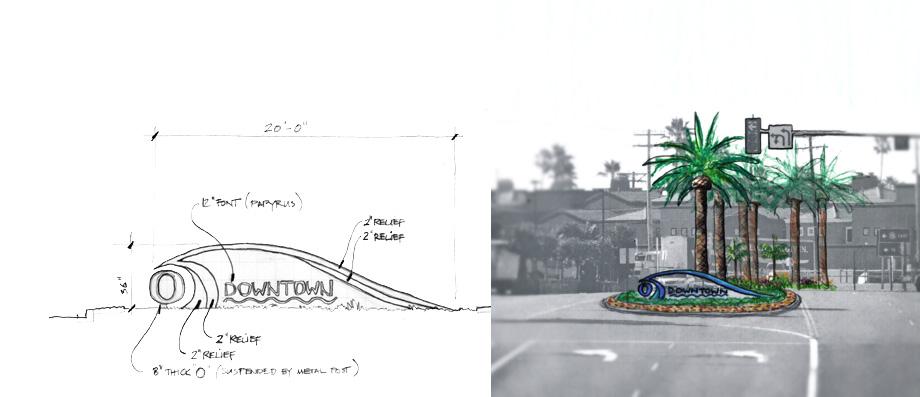 Grove design bressi ranch landscape architecture for Home gateway architecture